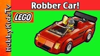 LEGO City Police Car 60007+ Fun Build by HobbyKidTV