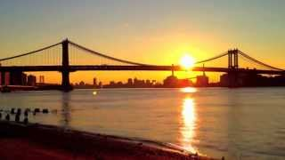 Sunrise, East River, NYC