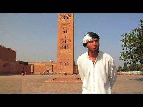 Koutoubia Mosque- Marrakech, Morocco, Davidsbeenhere.com