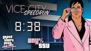 GTA Vice City Speedrun - Any% SSU - 8:38 [PB]