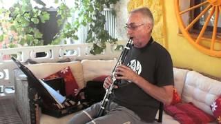 Vuelo del moscardón respiración circular clarinete Joaquin Alcaide