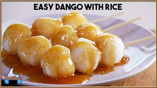 Easy Dango Using Cooked Rice (Mitarashi Dango Recipe)