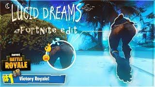 "juice WRLD ""lucid dreams"" - Fortnite : Battle Royale Edit [ Clips in Desc. ]"
