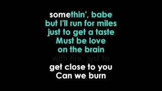 Rihanna  Love on the Brain lyrics Karaoke