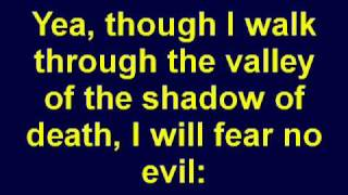 Psalm 23 - The Lord Is My Shepherd - Holy Bible - Christian Scripture Video - KJV