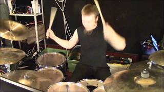 Devo - Whip It (Metal Cover Drum Cam (instrumental)) #OldiesButBaddies