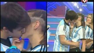 El beso entre Bianca y Gonzalo (26-05-2015)