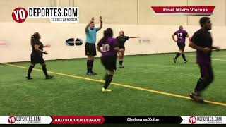 Chelsea vs. Xolos Final COED AKD Soccer League