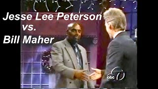 Jesse Lee Peterson on Politically Incorrect with Bill Maher: Jesse Jackson, George W. Bush 2000 #tbt