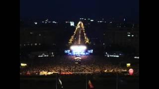 Queen + Adam Lambert,Somebody To Love, Bucharest, View from above