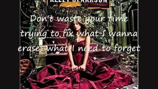 Kelly Clarkson - Don't Waste Your Time - Lyrics