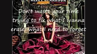 Kelly Clarkson - Don't Waste Your Time - Lyrics