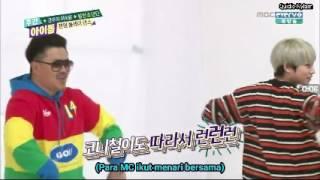 (sub indo) BTS random dance in weekly idol