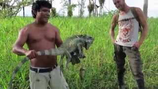 Victor Catches an Iguana
