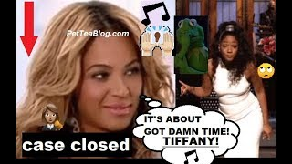 Finally found TIFFANY name in Beyonce Top Off Verse listen 🙈🙊🎵