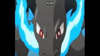 Pokemon Mega Charizard X VS Mega Venusaur AMV THE WICKED SIDE OF ME