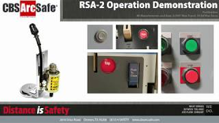 CBS ArcSafe® RSA-2 Single Application Remote Switching Tool Operation Demonstration