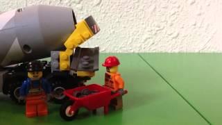 Lego Cement Mixer 60018 - City 2013