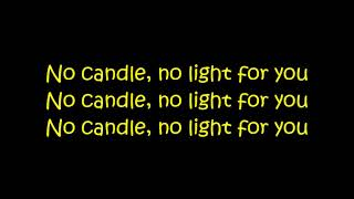 Zayn Ft. Nicki Minaj - No Candle No Light (Lyrics On Screen)