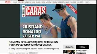 Cristiano Ronaldo será pai outra vez, diz imprensa portuguesa
