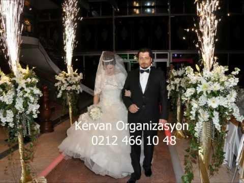 Düğün organizasyonu Kervan Organizasyon 0212 466 10 48