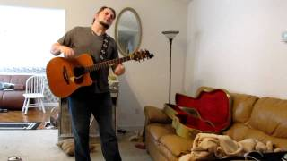 EARTH ANGEL by THE PENGUINS Performed by Michael Richardson Acoustic cover