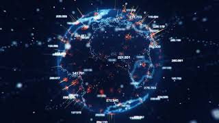 Earth Hologram Tutorial Preview Cinema 4D & After Effects - NO TEXT INTRO
