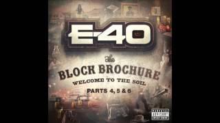 """E-40 """"Bendin' Corners"""" (Skee Skert)"""