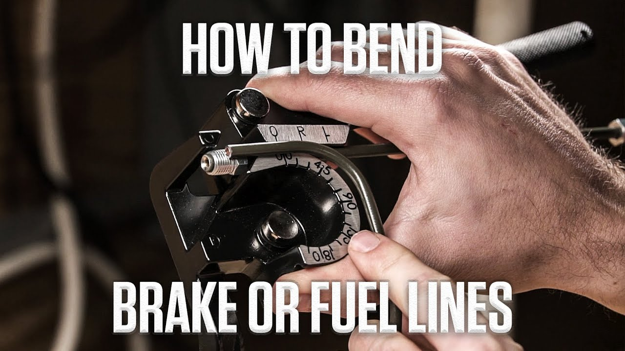 DIY: Bending brake and fuel lines thumbnail