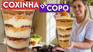 COXINHA DE COPO - RECEITA