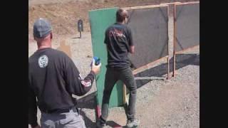 Hogue Pistol League 8-8-09 Bennie Dunn IV USPSA OPEN