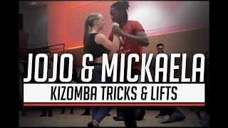 Jojo & Mickaela Kizomba Tricks & Lifts Dance Demo @  4th Suave Dance Festival 2017