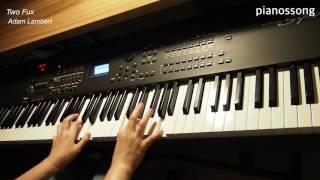 Two Fux / Adam Lambert 피아노커버 Piano Cover
