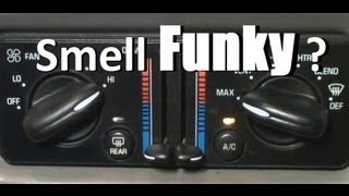 Air Conditioning Smell Funky? A/C System Explained & HowTo Fix The Stink