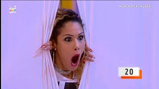 Adriana Lua imita careta de Cavaco Silva - Desafia-te: Nunca Digas Nunca