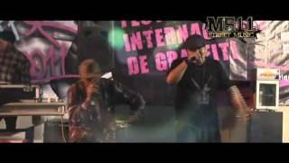 GRAFF WAR 2011 - M511 FAMILIA (Live Performance)
