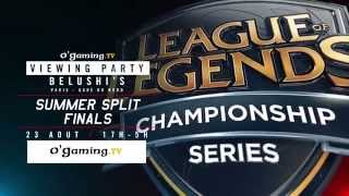Viewing Party au Belushi's : Finales LCS et public de folie !