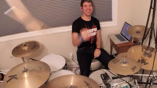 We Came As Romans - I Knew You Were Trouble - Punk Goes Pop Vol 6 - Drum Cover - Studio Quality (HD)