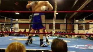 Brenton Swanson VS Fidel Martinez Jr. (Airtight Boxing 155 lbs) 4.8.17