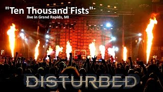 "Disturbed ""Ten Thousand Fists"" live in Grand Rapids, MI 5/24/2016"