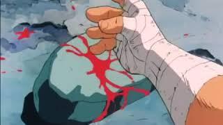 Os cavaleiros do zodíaco Seiya criança destrói Rocha com a mão nua #1