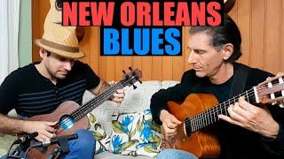 New Orleans Fingerstyle BLUES (Marcos Kaiser / Rick Udler)