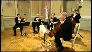 Mozart - Eine Kleine Nachtmusik - Menuetto (Allegretto) Movt.3 - Gewandhaus Quartett