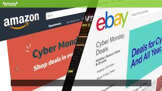 """Cyber Monday"" -  Amazon vs eBay"