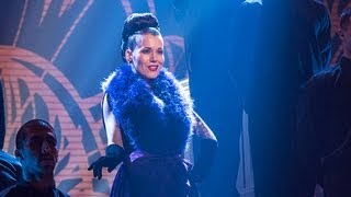 Beatrix Von Bourbon burlesque dancer - Britain's Got Talent 2012 Live Semi Final - UK version
