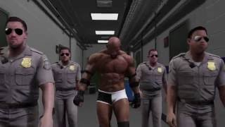 Entrada de Bill Goldberg en WWE 2K17