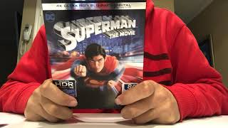 Superman The Movie 4K Ultra HD Blu-Ray Unboxing