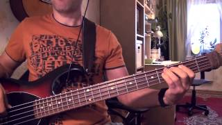 La Camisa negra (bass cover)