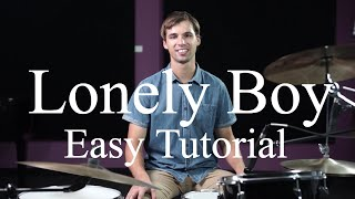 How To Play Lonely Boy By The Black Keys (Verse) - Drumming Made Simple Episode #28