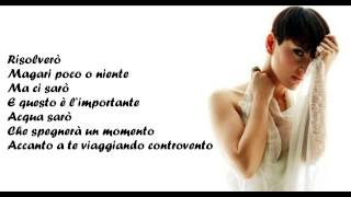 Arisa - CONTROVENTO + testo